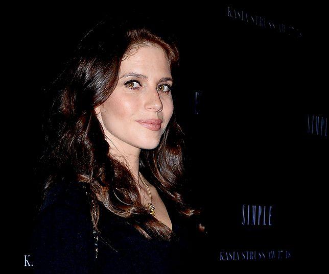 Weronika Rosati urodziła w grudniu swoje pierwsze dziecko.