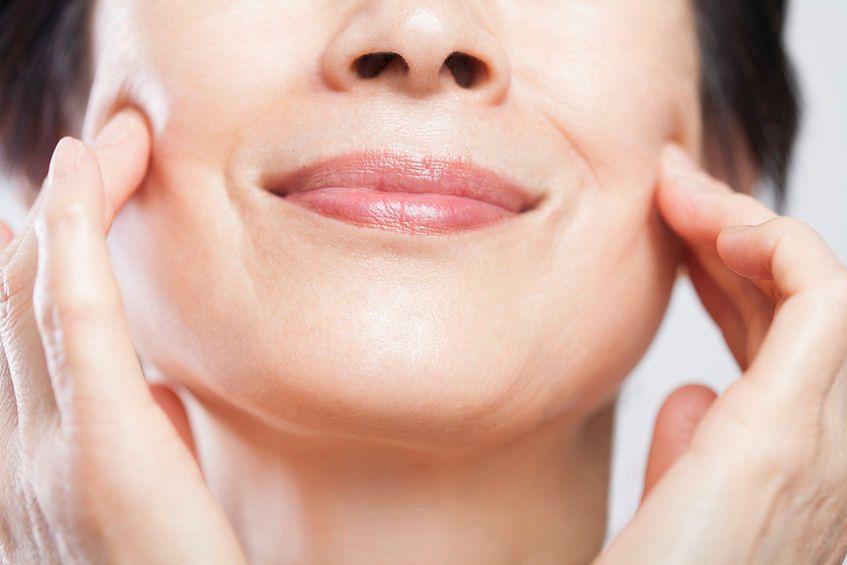 Spowolnienie procesu starzenia się skóry