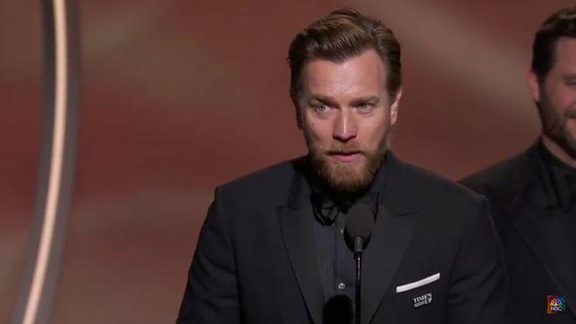 Ewan McGregor dziękuje swojej żonie i kochance! To przemówienie ze Złotych Globów przejdzie do historii