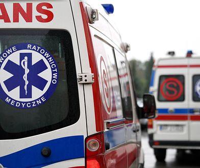 """Wypadek na Mazowszu. """"TIR leży w poprzek drogi, trasa całkowicie zablokowana"""""""