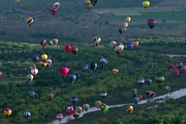 Fiesta Balonów w USA - na niebie było ich nawet tysiąc