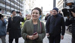 Wybory parlamentarne 2019. Olga Tokarczuk podczas czwartkowej konferencji w Bielefeld