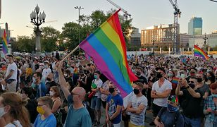 Protest w Warszawie. Demonstracja solidarności z aresztowaną Margot