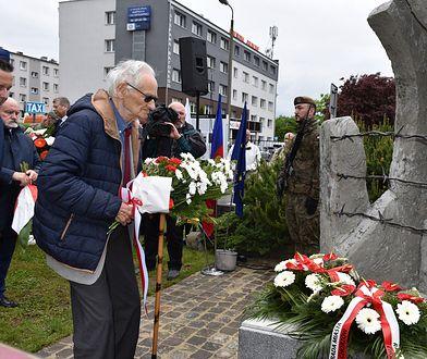 Chorzów. Syn rotmistrza Pileckiego odsłonił pomnik więźniów obozu Bismarckhuette