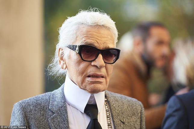 Karl Lagerfeld od kilku tygodni walczył z chorobą
