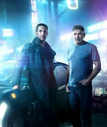 Ryan Gosling i Harrison Ford fot. Columbia Pictures
