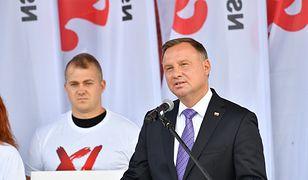 Przemówienie Andrzeja Dudy na Westerplatte