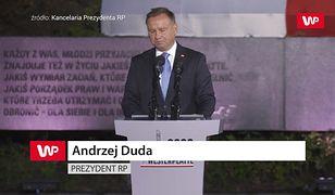 """Andrzej Duda o konieczności przejęcia Westerplatte. """"Miejsce było zaśmiecone"""""""