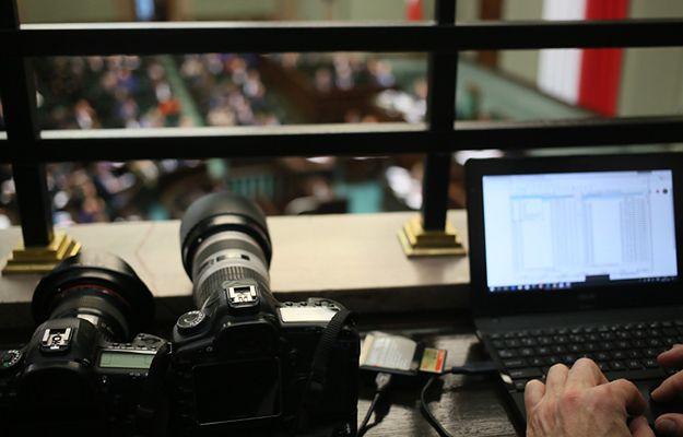 Sejm wprowadza ograniczenia dla dziennikarzy