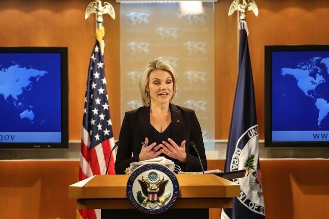 Heather Nauert, rzeczniczka prasowa Departamentu Stanu USA