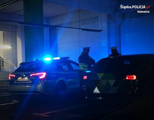 Katowice. Policja udaremniła nielegalne wyścigi.