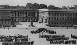 Pałac Saski przed II wojną światową