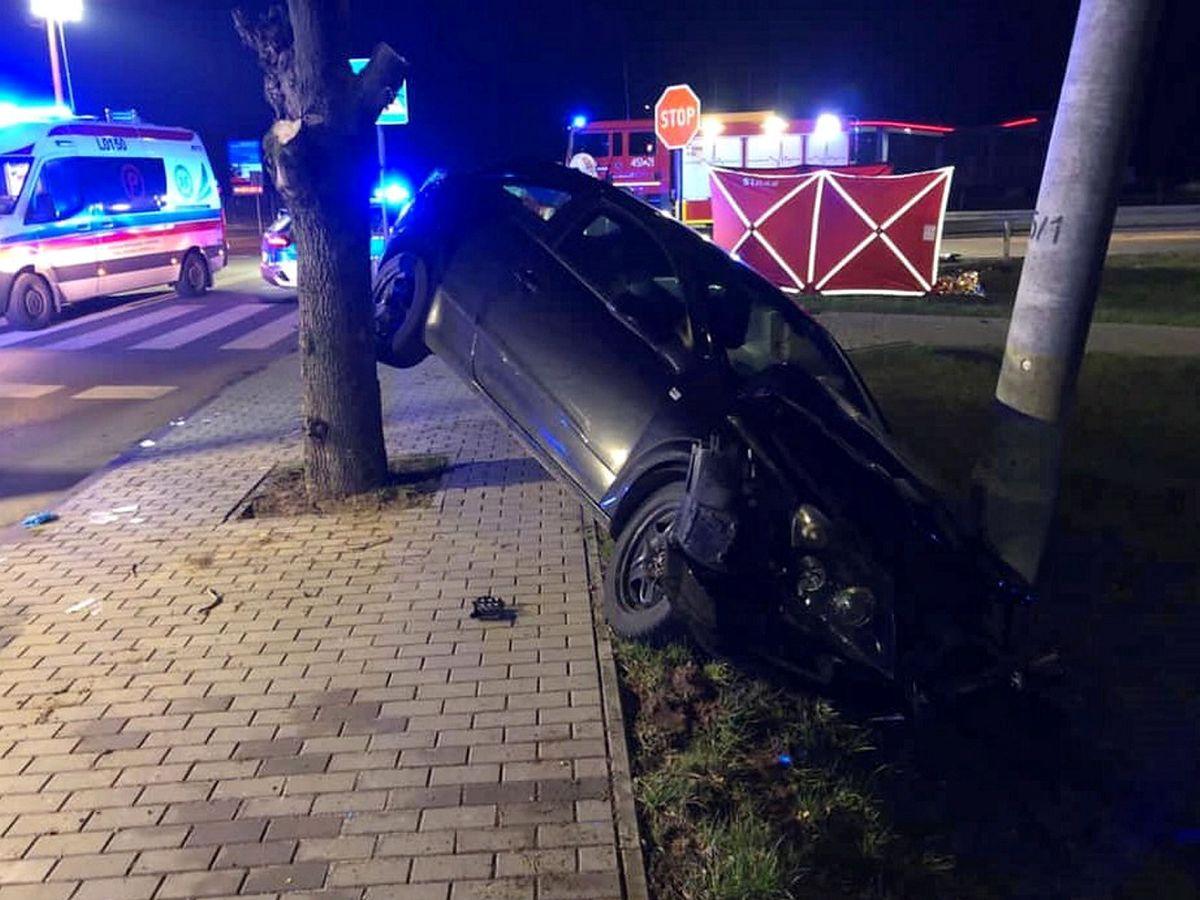 Śmiertelny wypadek w Kocku