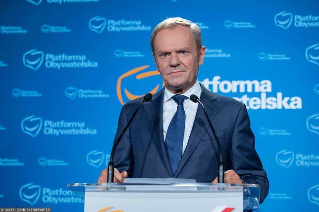 """Tusk ostro do dziennikarzy TVP Info. """"Dojdzie do strasznych rzeczy przez to co robicie w Polsce"""""""