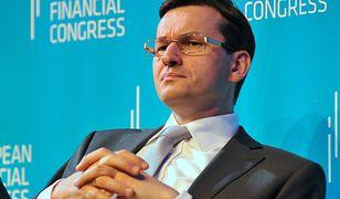 Na zdj. Mateusz Morawiecki jeszcze jako prezes BZ WBK, maj 2012 r.