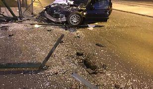 Kierowca bmw był kompletnie pijany
