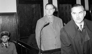 Proces dyrektora stołecznego MHW Stanisława Wawrzeckiego w tzw. aferze mięsnej, Warszawa 1965 r.