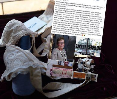 """Pani Grażyna prowadzi zakład od 40 lat / Zdjęcie zrealizowane w ramach projektu """"Młodzi szukają mistrzów""""."""