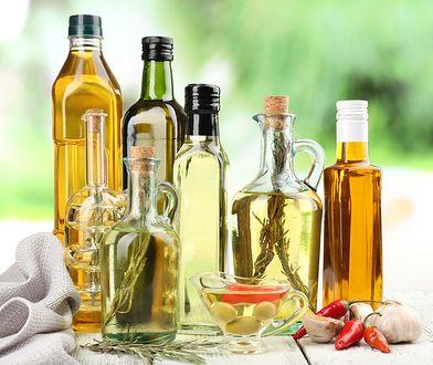 Oleje roślinne są bogatym źródłem tłuszczów nienasyconych.