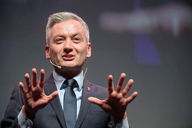 Robert Biedroń na konwencji Wiosny