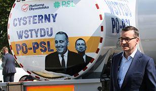 """Premier Mateusz Morawiecki i """"cysterna wstydu"""""""