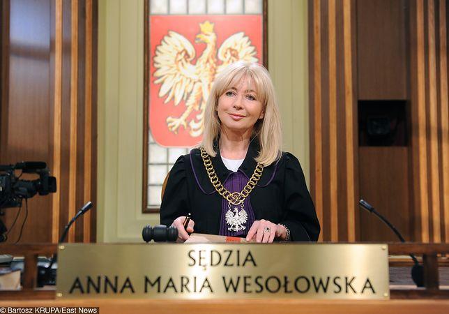 Sędzia Anna Maria Wesołowska wraca do telewizji