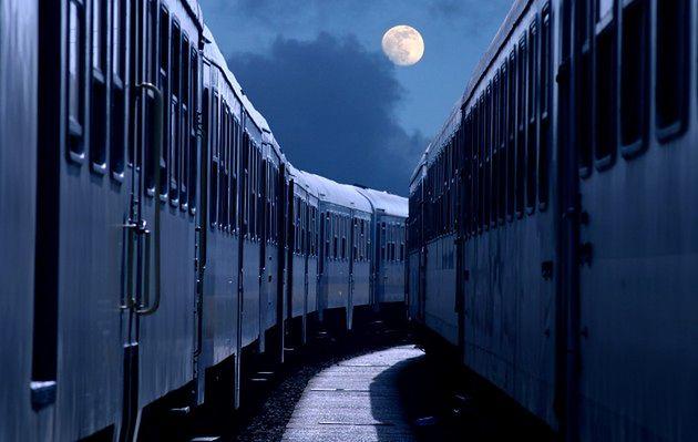 Rosyjski pociąg widmo na polskich torach
