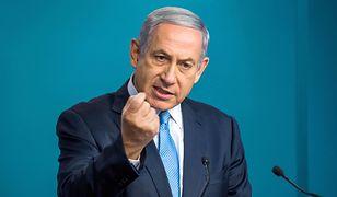 """""""Iran kłamie ws. broni atomowej"""". Premier Izraela pokazuje tajne dokumenty Mossadu"""