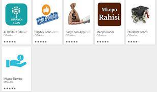 Fałszywe aplikacji w Google Play