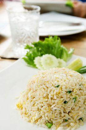Ryż z groszkiem i kukurydzą