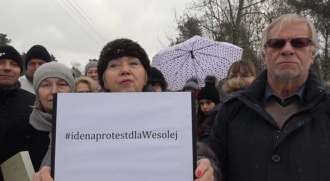 Mieszkańcy Wesołej zapowiadają protest