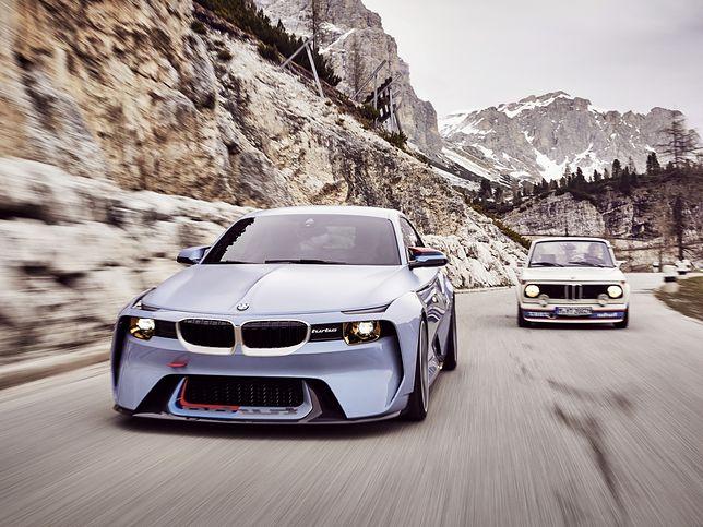 Specjalne BMW 2002 Hommage na Konkurs Elegancji