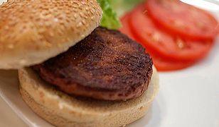 Pierwszy w historii burger z próbówki