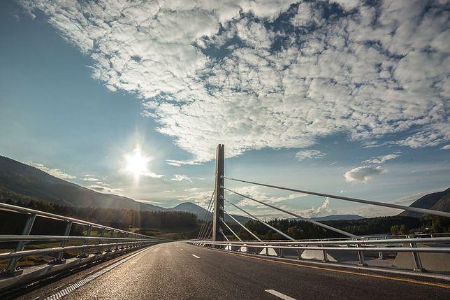 Most Harpe zbudowany przez Polaków