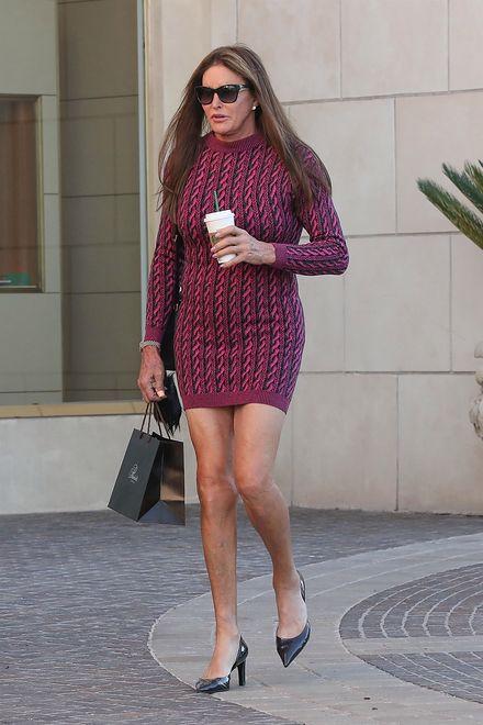 Caitlyn Jenner w krótkiej sukience
