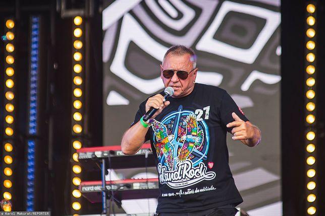 Jurek Owsiak na Pol'and'Rock Festival 2021, Karol Makurat/REPORTER