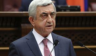 Premier Armenii podał się do dymisji po 11 latach sprawowania władzy jako prezydent i premier