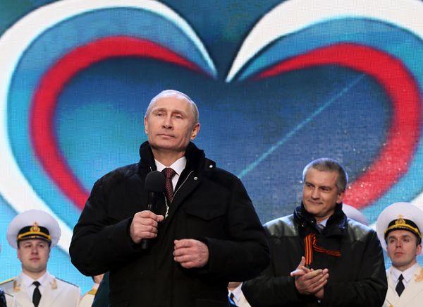 Władimir Putin i Siergiej Aksjonow