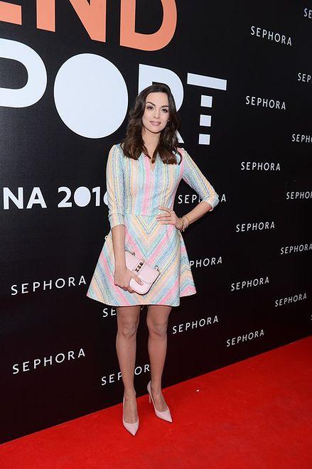 Paulina Krupińska na prezentacji marki Sephora