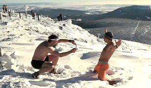 Śnieżka – piękna pogoda przyciąga turystów