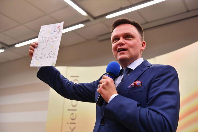 Szymon Hołownia został przeproszony za sytuację podczas mszy