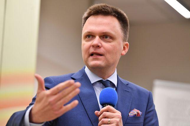 Szymon Hołownia doczekał się przeprosin