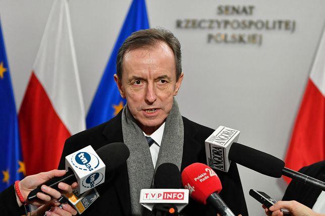 Adam Bodnar uważa, że Tomasz Grodzki (zdj.) jest traktowany przez prokuraturę podobnie jak Paweł Adamowicz