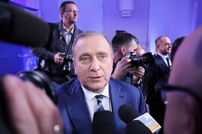 Grzegorz Schetyna nie chciał wyróżnić żadnego z kandydatów PO