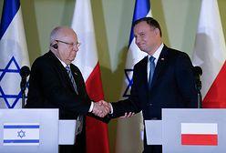 """Andrzej Duda otrzymał zaproszenie do Izraela. """"Chcemy budować silne relacje"""""""