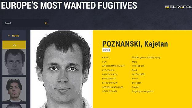 Kajetan Poznański ścigany przez policję ze 190 krajów. Wystawiono tzw. czerwoną notę Interpolu