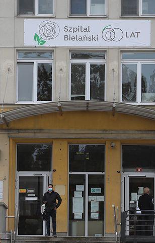 Warszawa. Jest odpowiedź ratusza na działania w Szpitalu Bielanskim