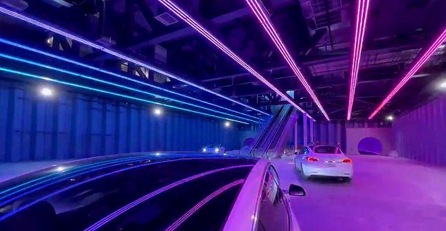 Elon Musk zaprezentował wygląd głównej stacji systemu transportowego Loop pod Las Vegas
