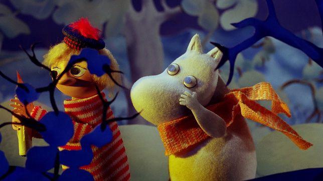 """Kadr z filmu """"Magiczna zima Muminków"""""""