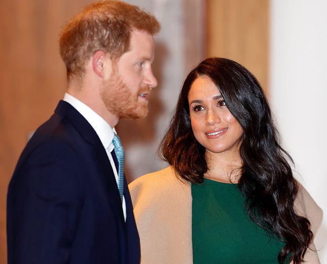 Księżna Meghan i książę Harry są dziś na wszystkich nagłówkach brytyjskich gazet